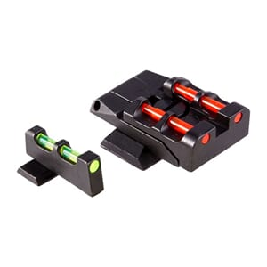 Hiviz Front & Adjustable Rear Sight Set S&W M&P