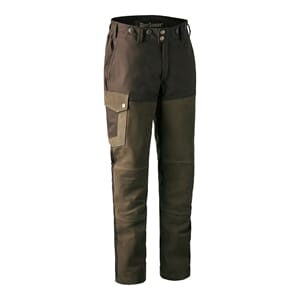 Marseille Leather Trousers Walnut