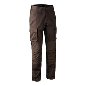 Rogaland stretch Trousers Brown leaf