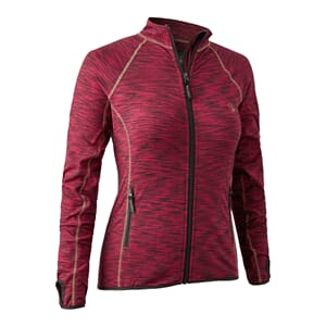 Lady Insulated Fleece Red Mel.