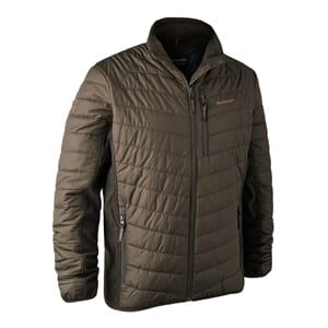 Moor Padded Jacket w. Softshell Timber