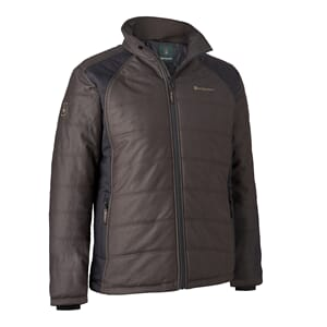 Moss Padded Jacket Brown leaf