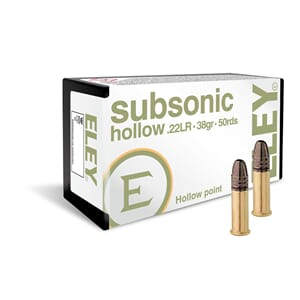 Eley Subsonic 22 Lr (50 Pk)
